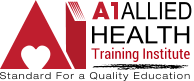 A1 Allied Health Training Institute Logo